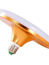 olcso -18 W LED gömbbúrás izzók 910-1100 lm E26 / E27 36 LED gyöngyök Hideg fehér 220-240 V, 1db