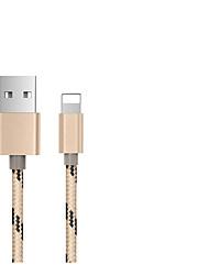 voordelige -micro-USB / Type-C USB kabeladapter Gevlochten / Snelle kosten Kabel Voor Macbook / iPad / Samsung 100 cm Voor Nylon