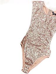 ieftine -Pentru femei Auriu O Piesă Costume de Baie - Mată M L XL Auriu