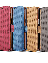 cheap -Case For Samsung Galaxy Note 9 / Note 8 Card Holder / Flip Full Body Cases Solid Colored Hard PU Leather for Note 9 / Note 8