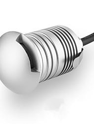 halpa -ONDENN 1kpl 3 W LED-valonheittimet / Vedenalaiset valaisimet / Lawn Valot Vedenkestävä / Luova / Himmennettävissä Lämmin valkoinen / Kylmä valkoinen 12 V Ulkovalaistus / Uima-allas / Piha 1 LED-helmet