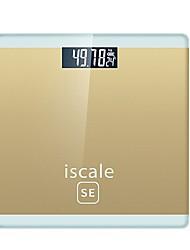 Недорогие -0.2kg-180KG Высокое разрешение Автоматическое выключение ЖК дисплей Масштаб тела Семейная жизнь