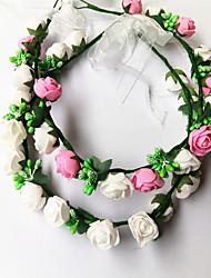abordables -Mousse Casque avec Fleur / Lacet 1 Pièce Anniversaire Casque