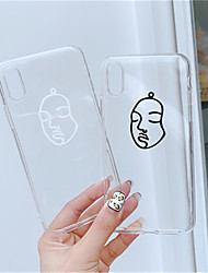 economico -Custodia Per Apple iPhone X / iPhone XS Max Transparente / Fantasia / disegno Per retro Transparente Morbido TPU per iPhone XS / iPhone XR / iPhone XS Max