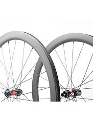 Недорогие -FARSPORTS 700CC Колесные пары Велоспорт 26 mm Шоссейный велосипед Углеродное волокно Подходит для клинчерной покрышки / бескамерной шины 24/24 Спицы 45 mm