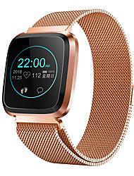 Недорогие -BoZhuo Q3 PLUS Женский Умный браслет Android iOS Bluetooth Водонепроницаемый Пульсомер Измерение кровяного давления Израсходовано калорий Информация