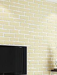 رخيصةأون -ورق الجدران محبوكة تغليف الجدران - لاصق ذاتي حجر
