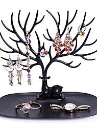 Недорогие -стеллаж для хранения креативная складная многофункциональная ювелирная стойка в форме дерева
