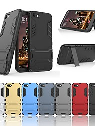 cheap -Case For Huawei Y530 Shockproof / with Stand Back Cover Solid Colored / Armor Hard PC for Huawei Y5 (2018)