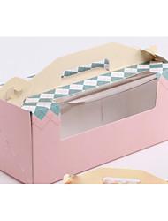 Недорогие -Кубический Чистая бумага Фавор держатель с Ленты / Ленты Подарочные коробки - 10 шт.