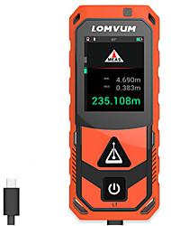 Недорогие -Lomvum новое поступление Bluetooth USB лазерный дальномер цифровой лазерный дальномер 200 м метр с питанием от батареи измеритель лазер