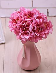 billige -Kunstige blomster 1 Gren Singel Enkel Stil Moderne Sukkulente planter Bordblomst
