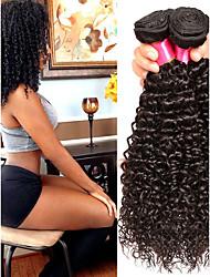 זול -6 צרורות שיער מלזי Kinky Curly שיער בתולי טווה שיער אדם שיער Bundle פתרון חפיסה אחת 8-28inch צבע טבעי שוזרת שיער אנושי מפל מים Cute עיצוב אופנתי תוספות שיער אדם בגדי ריקוד נשים / לא מעובד