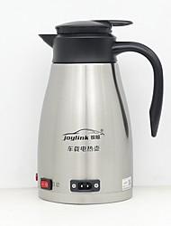 Недорогие -Электрический чайник для автомобилей из нержавеющей стали 1.2 л малошумный / автоматическое выключение / одноклавишный выключатель