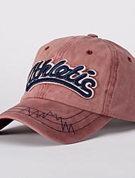 ราคาถูก -ทุกเพศ สีพื้น ทำงาน - หมวกเบสบอล