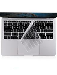 Недорогие -xskn® ультратонкая крышка клавиатуры для 2018 года позже новый MacBook Air 13,3 прозрачная тпу клавиатура ноутбука защитная пленка США макет