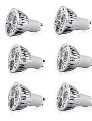 preiswerte -9 W LED Spot Lampen 600 lm E14 GU10 GU5.3 GU10 3 LED-Perlen Hochleistungs - LED Dekorativ Warmes Weiß Kühles Weiß 85-265 V, 6pcs