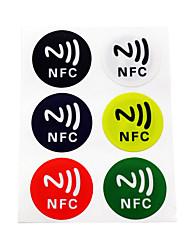 Недорогие -5YOA 6ColorNFC213 RFID Keyfobs Дома / квартира / Для школы