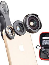 Недорогие -Объектив для мобильного телефона Широкоугольный объектив / Макролинза стекло / Алюминиевый сплав Макрос 10X 35 mm 10 m 110 ° Очаровательный / Cool