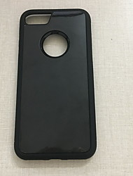 billiga -fodral Till Apple iPhone 6 / iPhone 6s Plus Ringhållare Skal Enfärgad Hårt TPU för iPhone 7 Plus / iPhone 7 / iPhone 6s Plus