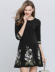 رخيصةأون -فستان نسائي A line أنيق قصير جداً ورد