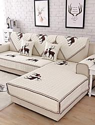זול -כיסוי ספה / כרית הספה רומנטי / עכשווי רקמה / מרופד כותנה כיסויים