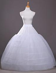 Недорогие -Невеста Classic Lolita 1950-е года Многослойность Платья Нижняя юбка Кринолин Жен. Девочки Костюм Белый Винтаж Косплей Свадьба Для вечеринок Принцесса