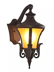 tanie -QIHengZhaoMing LED / Współczesny współczesny Zewnętrzne lampy ścienne Sklepy / Kawiarnie / Biuro Metal Światło ścienne 110-120V / 220-240V 5 W