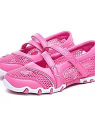 Недорогие -Девочки Обувь Сетка / Полиуретан Весна Удобная обувь На плокой подошве для Дети / Для подростков Пурпурный / Розовый