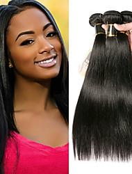 olcso -3 csomag Mongol haj Egyenes 100% Remy hajszövési csomó Az emberi haj sző Bundle Hair Emberi haj tincsek 8-28 hüvelyk Természetes szín Emberi haj sző Szagmentes Kreatív Legjobb minőség Human Hair