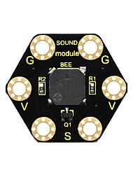Недорогие -Keyestudio модуль пассивного зуммера для BBC Microbit (черный и экологически чистый)