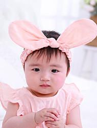 お買い得  -幼児 女の子 ベーシック / 甘い ソリッド プリント アクリル ヘアアクセサリー ホワイト / ピンク フリーサイズ