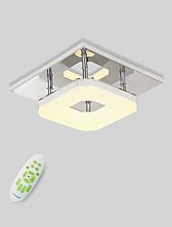Недорогие -Монтаж заподлицо Рассеянное освещение Электропокрытие Металл LED 90-240 Вольт Теплый белый / Белый / Диммируемый с дистанционным управлением Светодиодный источник света в комплекте