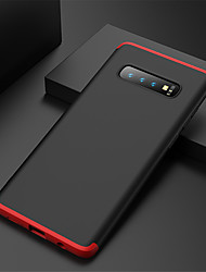 cheap -Case For Samsung Galaxy Galaxy S10 / Galaxy S10 Plus Shockproof Full Body Cases Solid Colored Hard PC for S9 / S9 Plus / S8 Plus