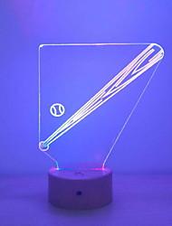 זול -1pc LED לילה אור שנה USB יצירתי <=36 V
