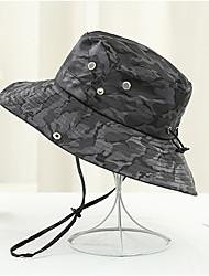 Χαμηλού Κόστους -Γιούνισεξ Συνδυασμός Χρωμάτων Φλοράλ Ενεργό Βασικό χαριτωμένο στυλ Βαμβάκι Ψάθινο καπέλο Καπέλο ηλίου Όλες οι εποχές Πορτοκαλί Ρουμπίνι Γκρίζο