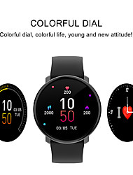 Недорогие -KUPENG M30 Мужчина женщина Смарт Часы Android iOS Bluetooth Водонепроницаемый Сенсорный экран Пульсомер Измерение кровяного давления Спорт