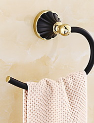 Недорогие -Держатель для полотенец Новый дизайн / Cool Современный Сплав титана 1шт - Ванная комната На стену