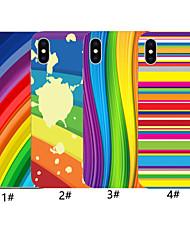 Недорогие -чехол для яблока iphone xr / iphone xs max шаблон задняя крышка цвет градиента мягкий тпу для iphone x xs 8 8plus 7 7plus 6 6plus 6s 6s plus