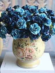 Недорогие -Искусственные Цветы 5 Филиал Классический европейский Простой стиль Розы Вечные цветы Букеты на стол
