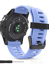ราคาถูก -สายนาฬิกา สำหรับ Fenix 5s / Fenix 5 Plus / Fenix 3 Garmin สายยางสำหรับเส้นกีฬา ยางทำจากซิลิคอน สายห้อยข้อมือ