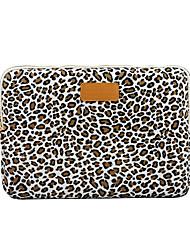 90927ace91c abordables -13.3 14 15.6 estampado de leopardo lienzo estampado floral a  prueba de golpes fundas