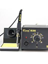 Недорогие -бессвинцовый преобразователь температуры термостат паяльная станция 936 антистатическая защита окружающей среды энергосберегающая паяльник электричество паяльная станция