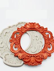 preiswerte -1pc Silikon Gel Hitzebeständig Neuankömmling Kuchen Kreisförmig Kuchenformen Backwerkzeuge