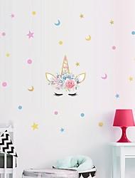 billige -1pc enhjørning klistermærke væg dekoration graffiti væg klistermærke til børns hus mur klistermærker