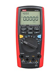 Недорогие -Интеллектуальные цифровые мультиметры uni-t ut71c Значение истинного среднеквадратичного значения макс. 39999 Вольт, ампер, емкость, температура, тестер, передача данных по USB