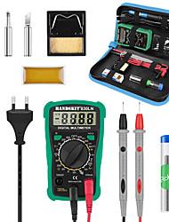 Недорогие -набор паяльников с регулируемой температурой с переключателем мультиметр сварочный набор инструментов 60 Вт ремкомплект