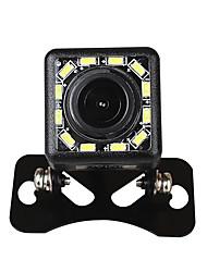 Недорогие -Ziqiao 12 светодиодные фонари 170-градусного ночного видения водонепроницаемая камера заднего вида