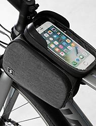 Недорогие -Сотовый телефон сумка Бардачок на раму 6.2 дюймовый Сенсорный экран Компактность Велоспорт для Samsung Galaxy S6 Samsung Galaxy S6 edge LG G3 Черный / iPhone XS Max / iPhone XS / iPhone XR / iPhone X