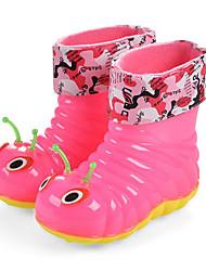halpa -Tyttöjen Kengät PVC Kevät Comfort / Kumisaappaat Bootsit varten Lapset Sininen / Pinkki / Säärisaappaat
